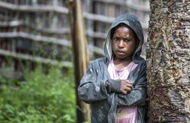 Dani tribe girl in Baliem Valley