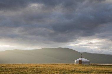 mongolian yurt in northern mongolia