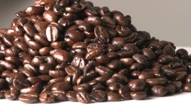 rotierende Kaffeebohnen