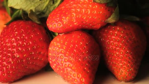 rotující jahody oddálení