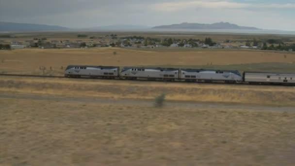 video of passenger train
