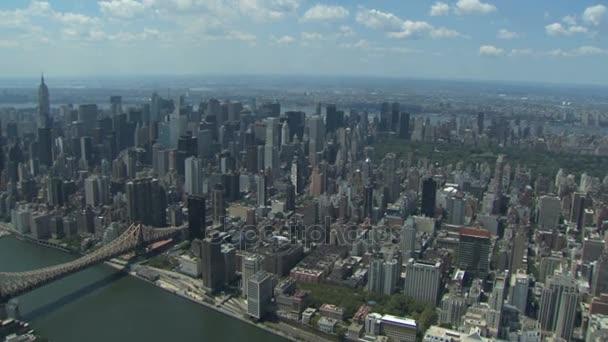 pohled na panorama new Yorku