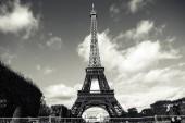 Die Stadt Paris mit dem Eiffelturm