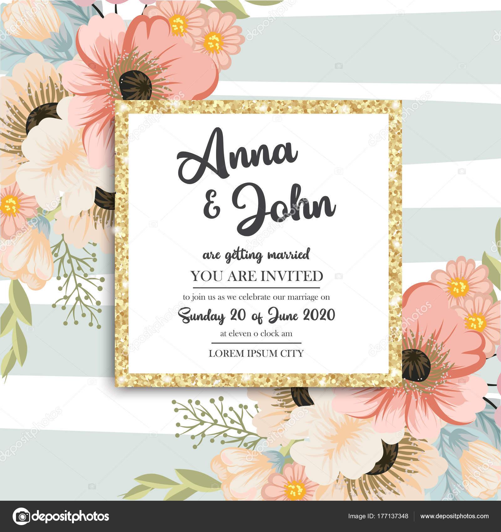 Cartoline Auguri Matrimonio : Cartolina auguri con fiori acquerelli utilizzabile come carta