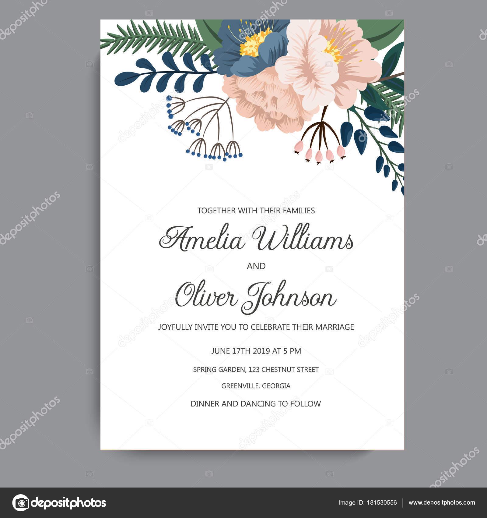 Tarjeta De Invitacion Wpart Co
