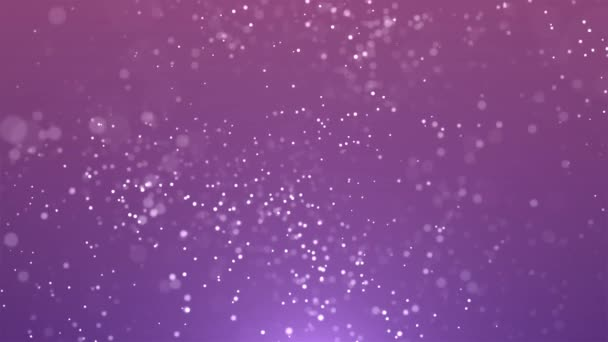 Abstraktní bílé částice padající pomalu pohybu pozadí
