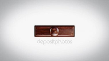 ORIGINAL BRAND Word 3D Animated Wooden Stamp Animation