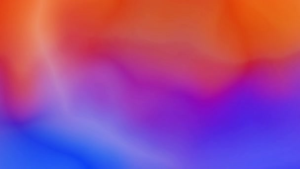 Abstraktní tekutý gradient barevné pozadí bezešvé smyčka animace.