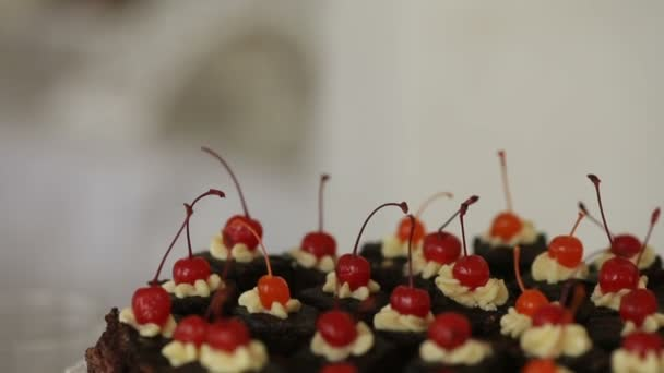 sweets cakes, cake with hot chocolate cherry cake holiday wedding