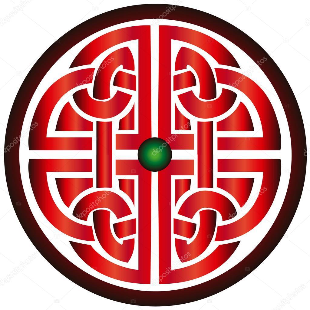 Keltisches Symbol Knotlove Stockvektor Hxam92 127706712