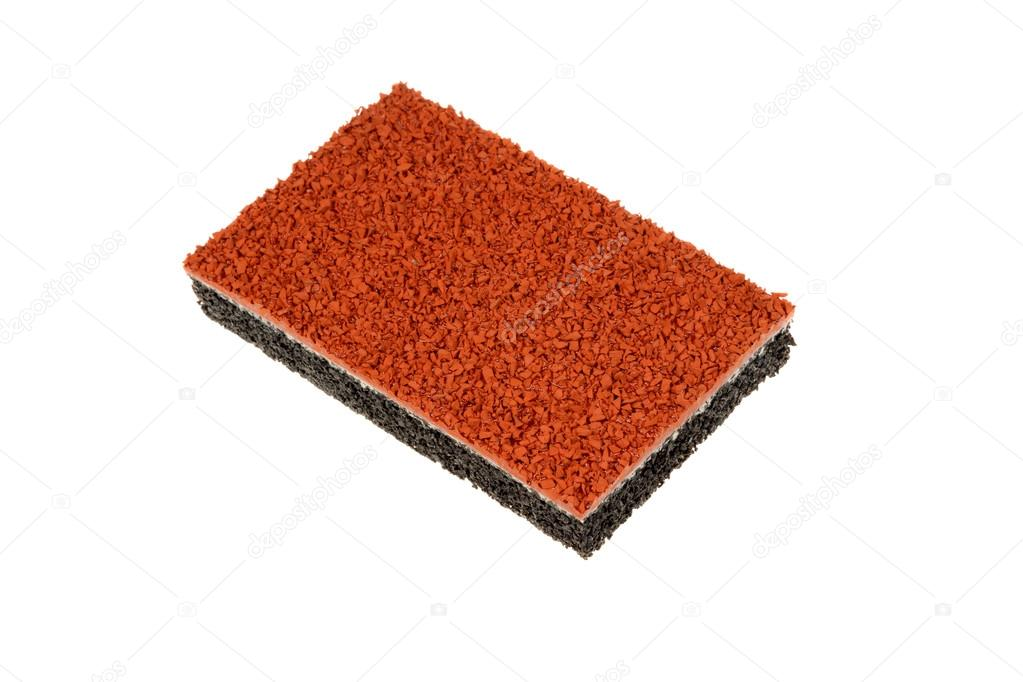 High Elastic Rubber Flooring Suitable For Outdoor Running Tracks Isolated On White Background Photo By Mahlebashieva Yahoo Com