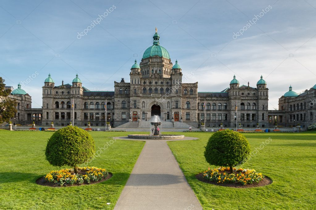 Government Building at Victoria