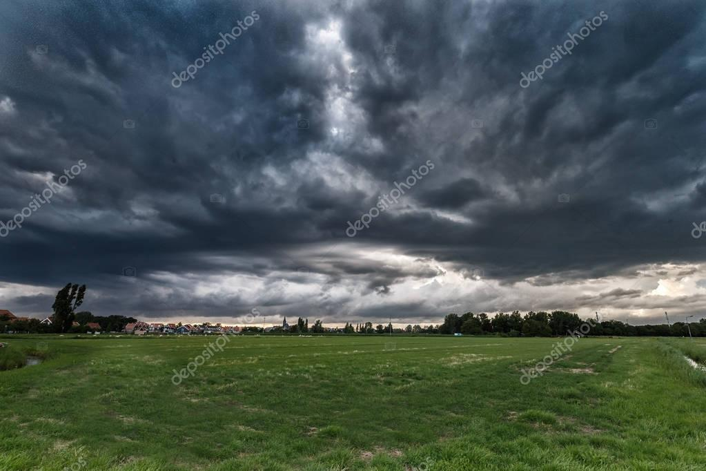 Stormy Weather with dramatic sky