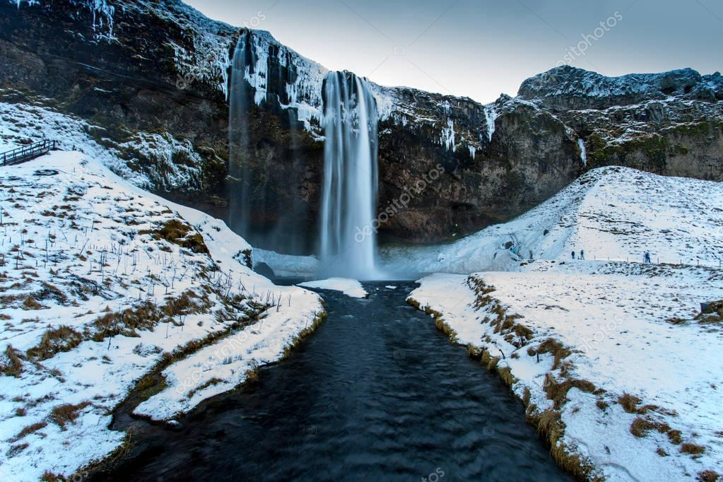 Фотообои Skogafoss waterfall, Iceland