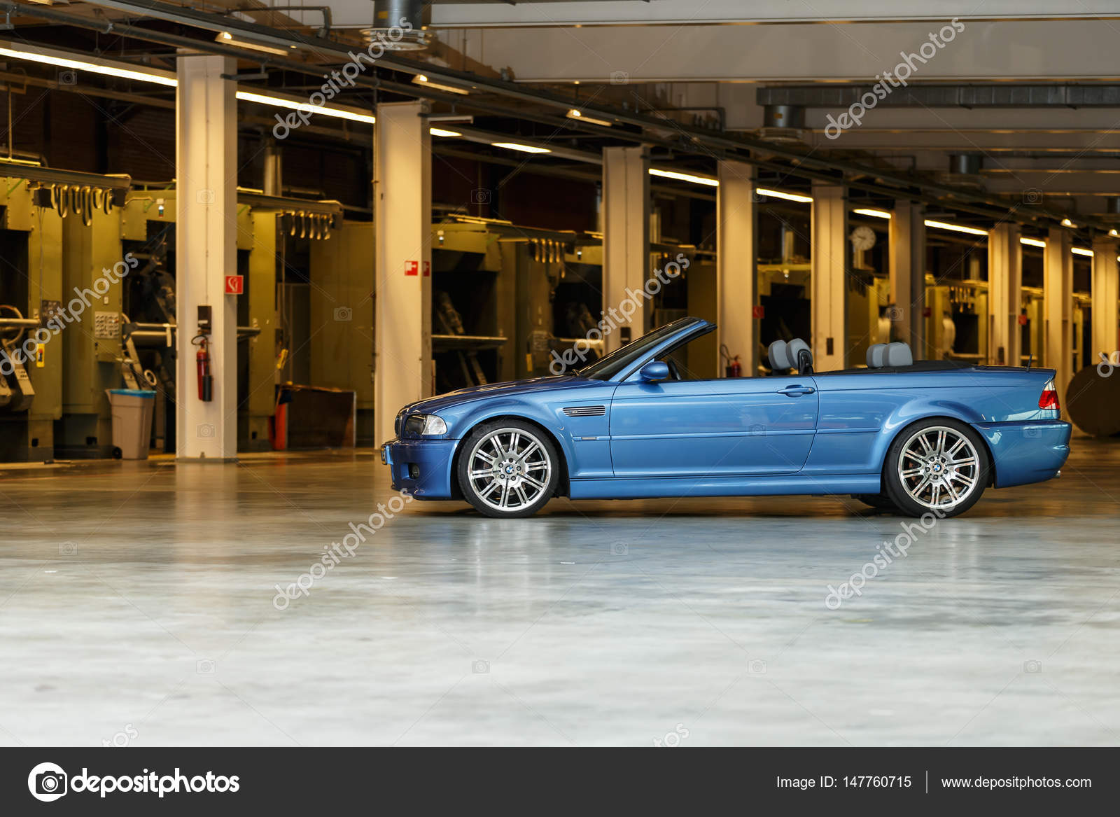 Bmw M3 E46 Convertible Standing In A Polder Stock Editorial Photo C Mennoschaefer 147760715