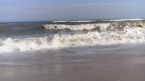 moře v létě pobřeží vlna pěny
