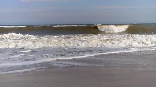 estate costa mare onda spumosa