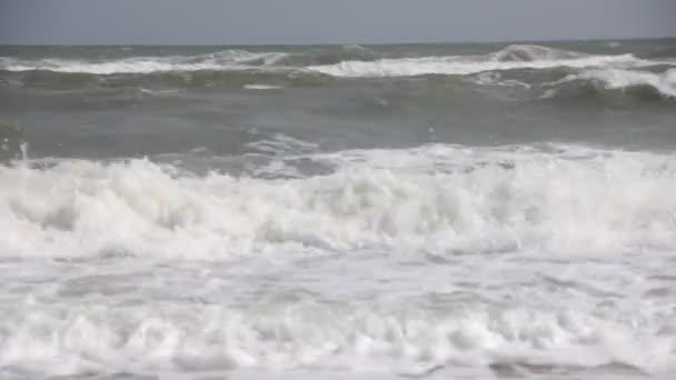 Mořské vlny letní pozadí