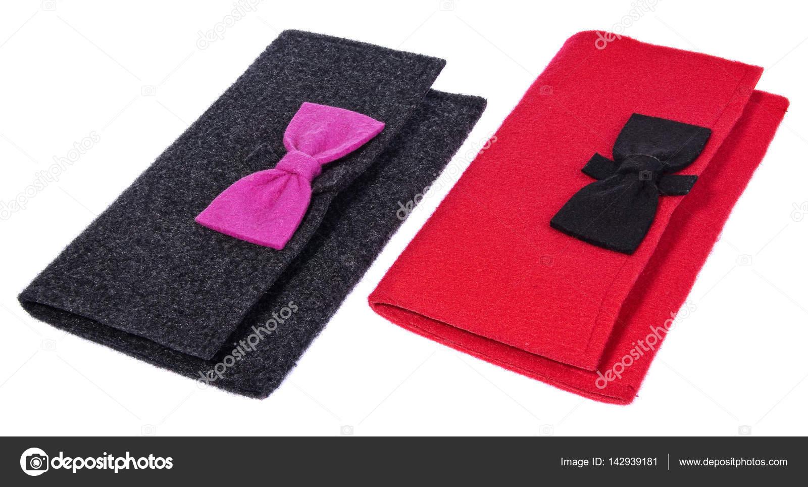 bolsos materia la señoras fieltro textil A de las monederos de q7gxx5T