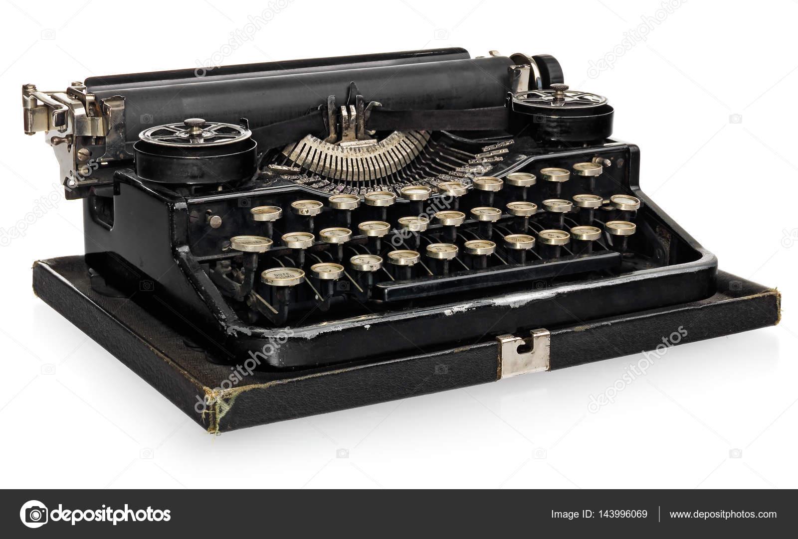 ancien antique vintage portable machine crire avec l alphabet polonais ke photographie. Black Bedroom Furniture Sets. Home Design Ideas