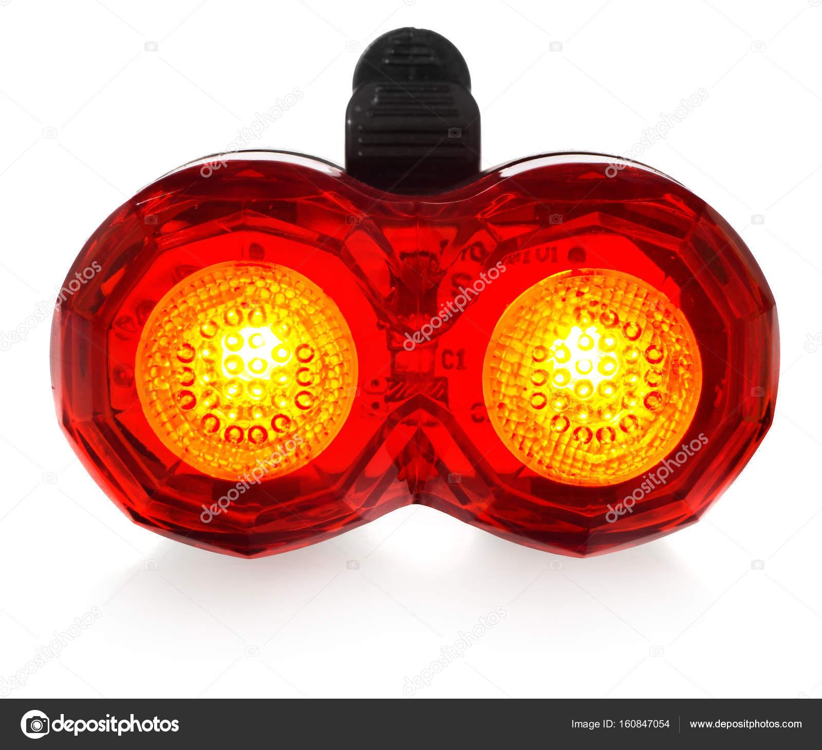 Roten Hinteren In Farbe LampeKunststoff Einer Beleuchtet Fahrrad 3q4AL5Rj