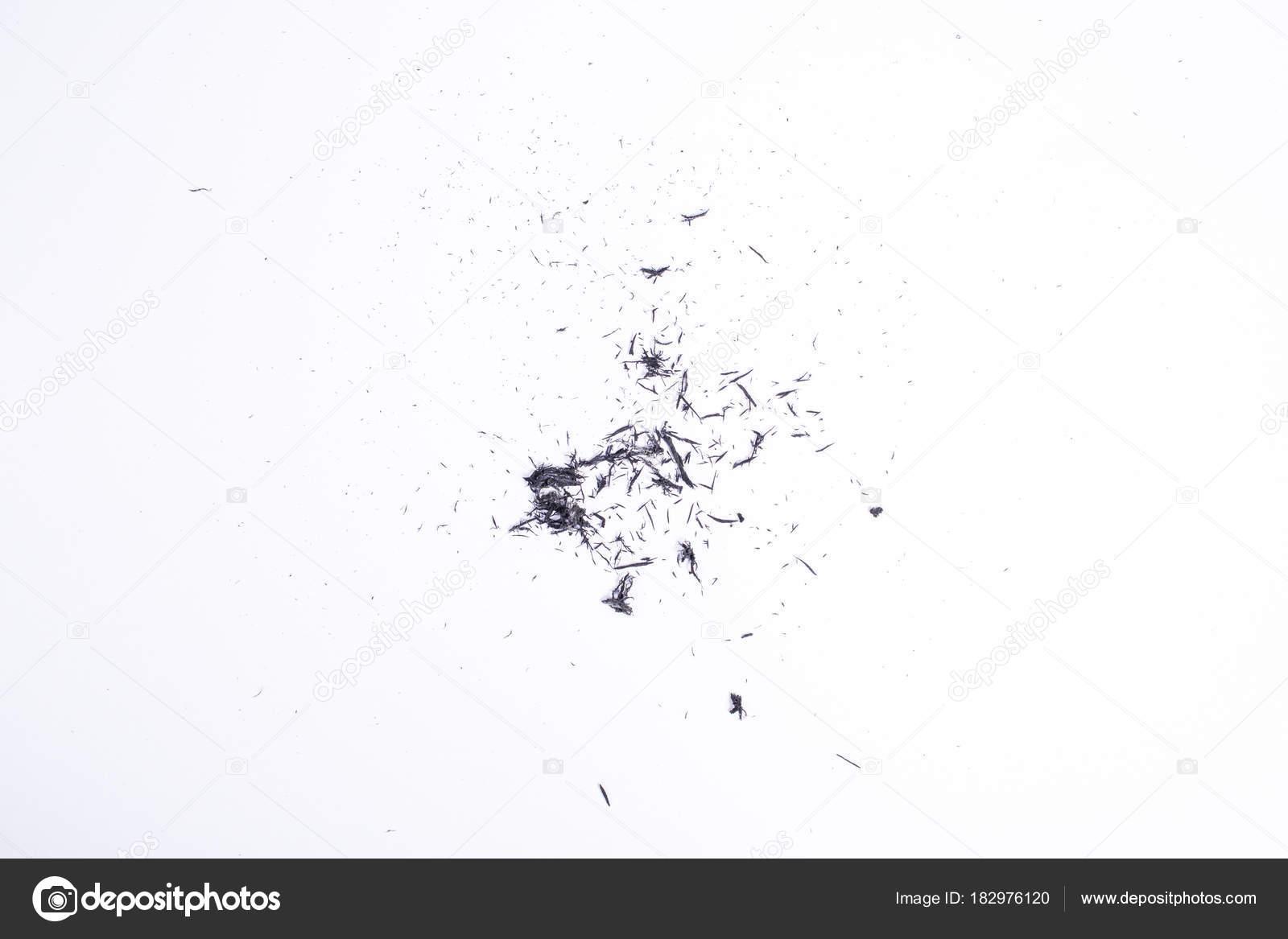 piece of eraser isolated on white background close up stock photo