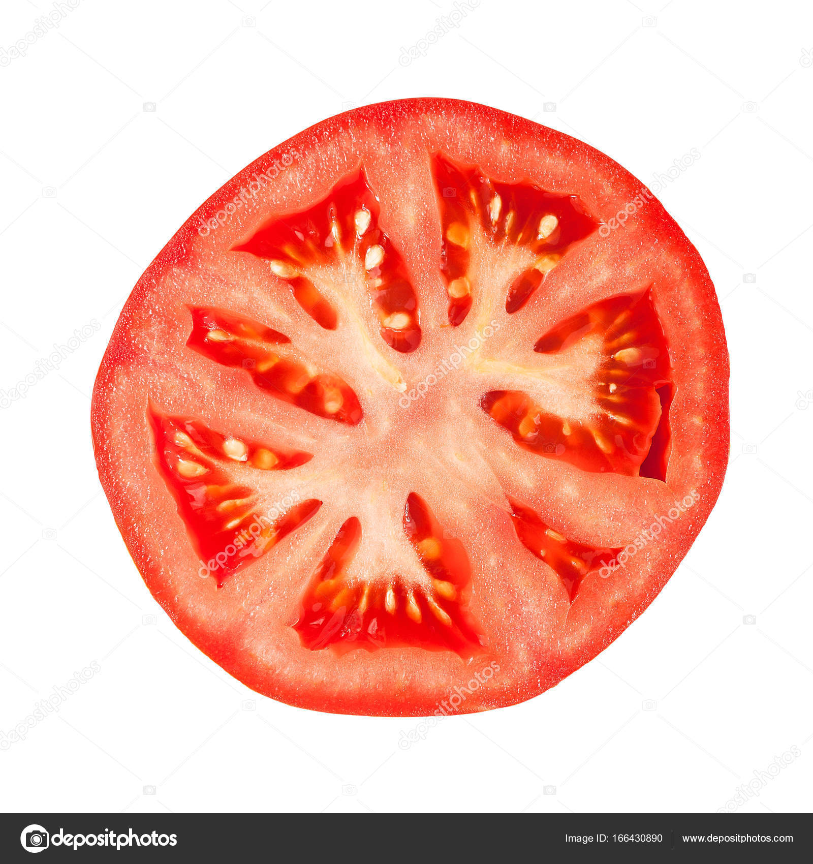 detail of tomato slice stock photo mirovic 166430890