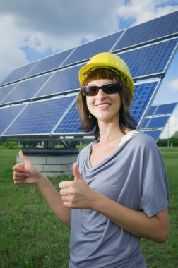 double thumbs up for solar energy