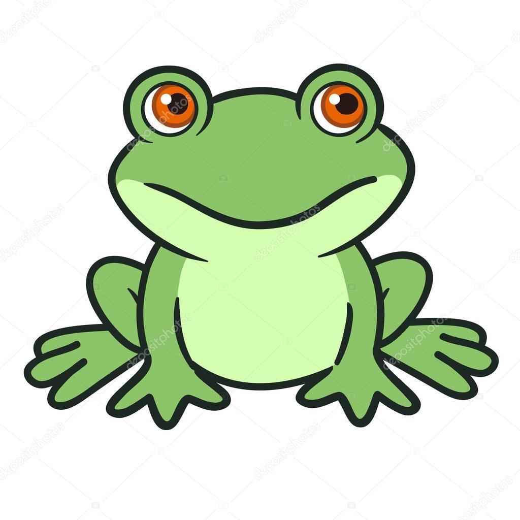 Grenouille dessin anim mignon image vectorielle treemouse 151868454 - Image de dessin anime ...