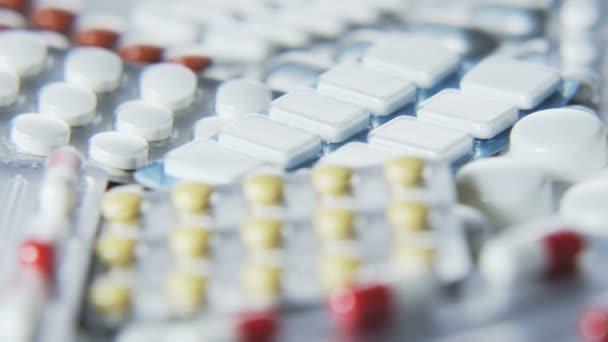 Various Tablets in Blister Packs
