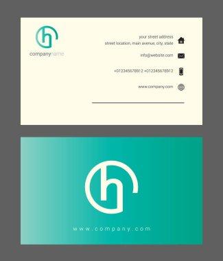 green company business card