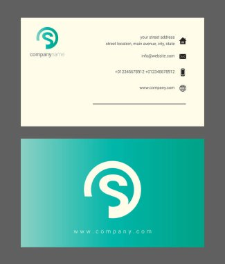 green company business card