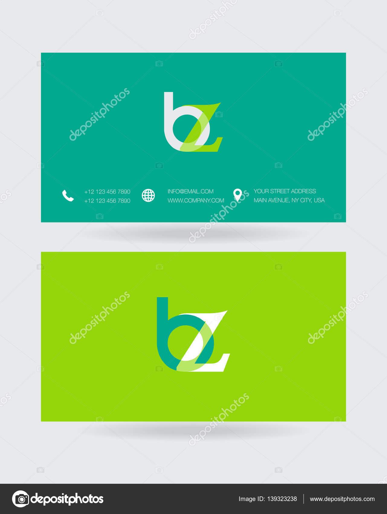 Template For Business Card Stock Vector Deepzdzyn 139323238