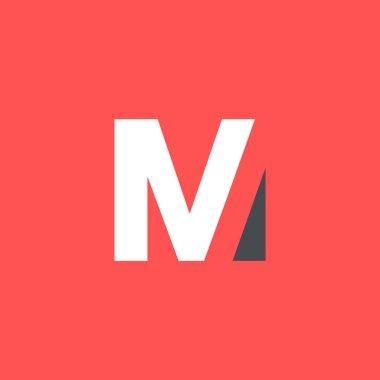 Modern letter logo design