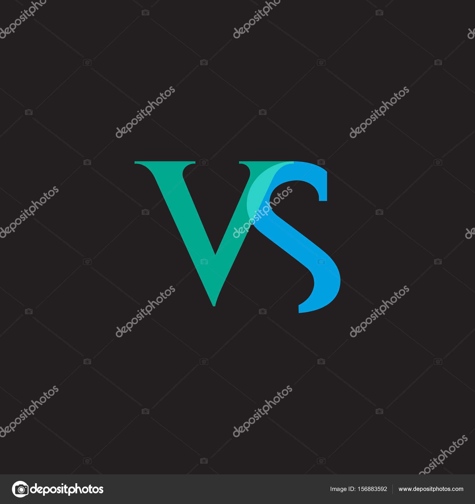 Gestaltung von Joint Buchstaben Vs — Stockvektor © deepzdzyn #156883592