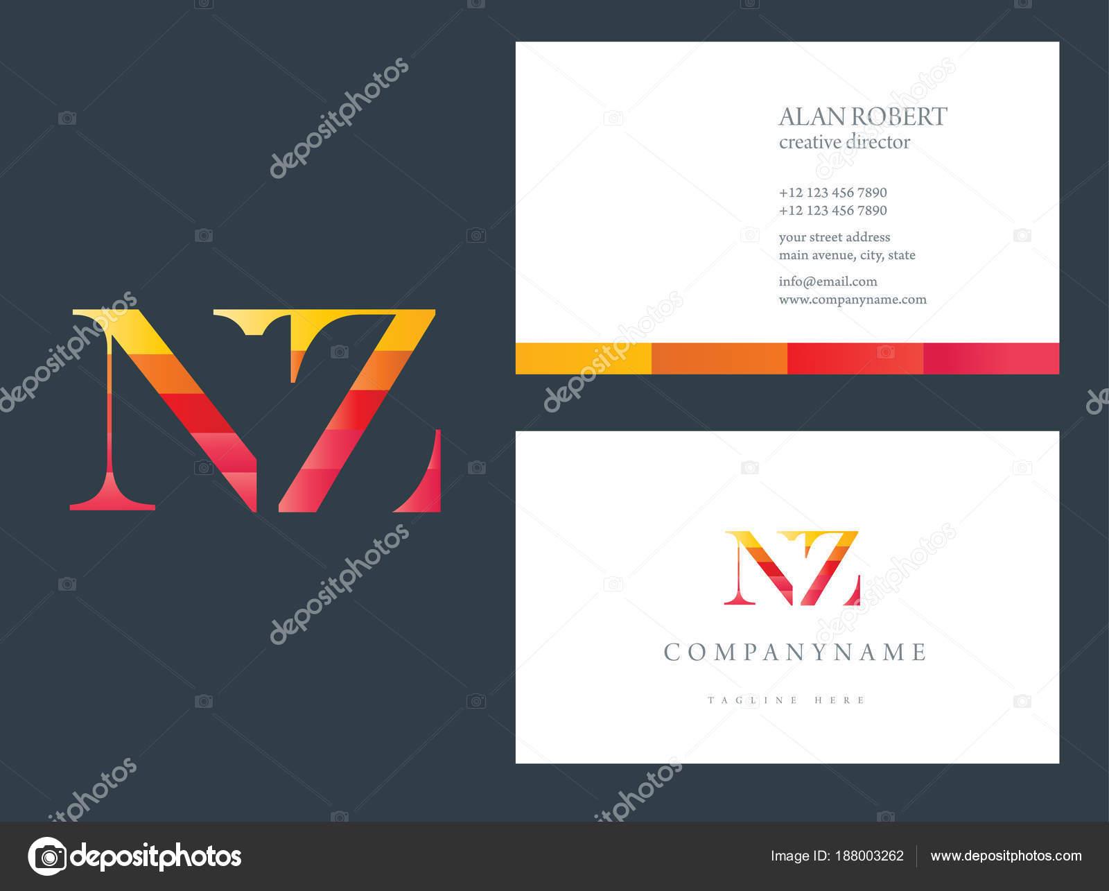 Multi color logo business card template stock vector deepzdzyn multi color logo nz business card template vector by deepzdzyn reheart Gallery