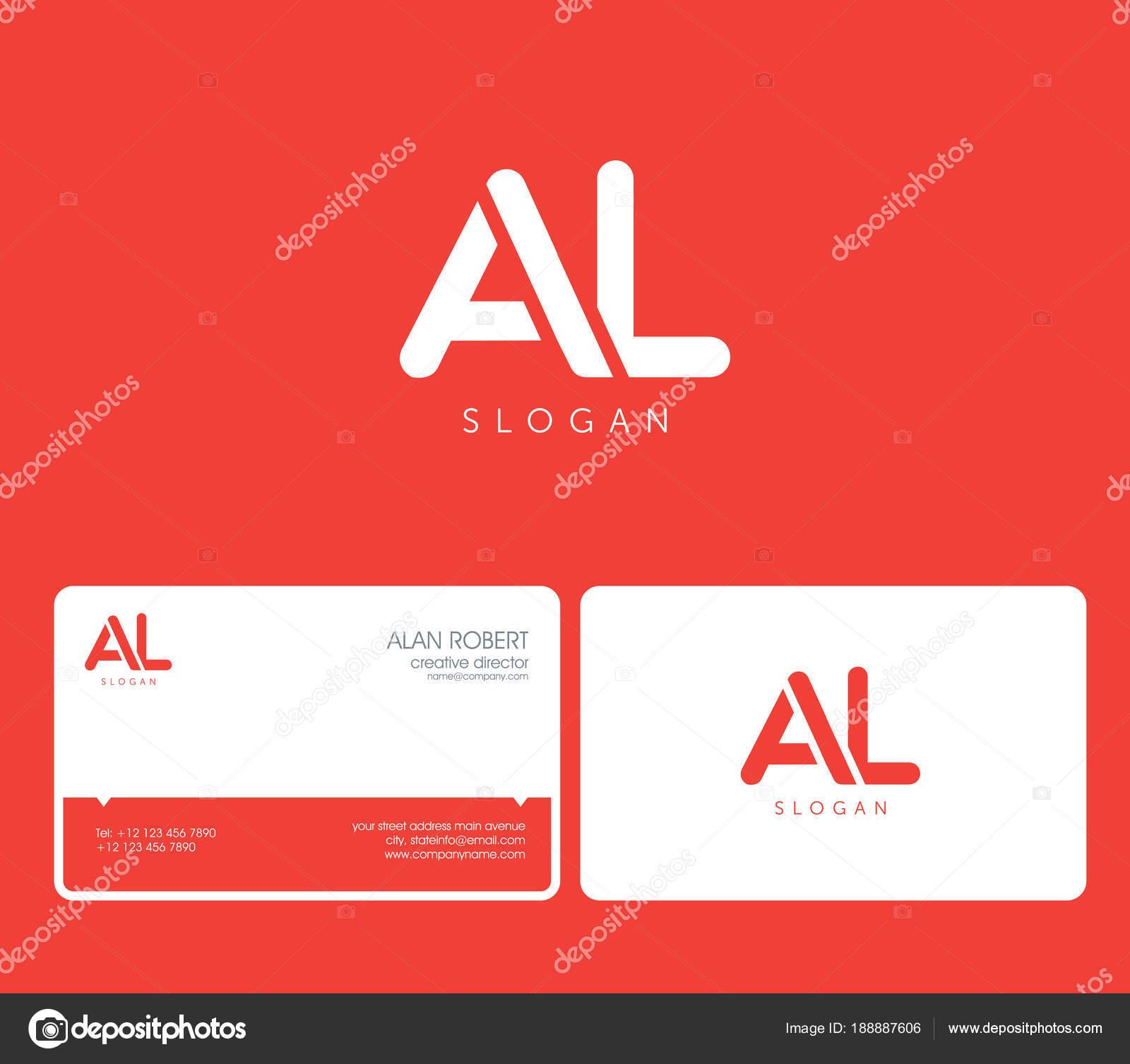 Gemeinsames Logo Runde Form Briefe Mit Visitenkarte Vorlage