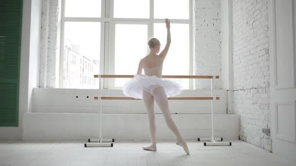 Mladá baletka v baletu