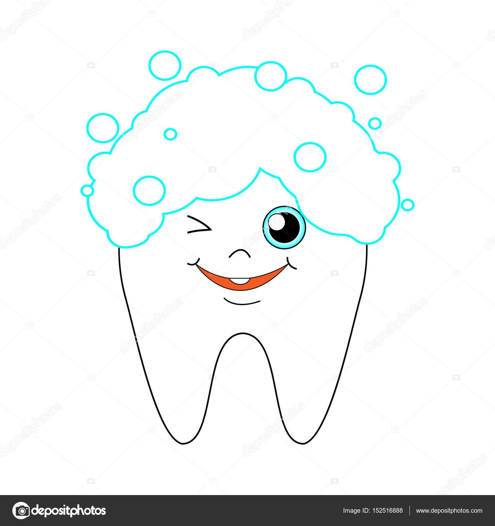 Dibujos Dentistas Para Pintar Vector De Dibujos Animados