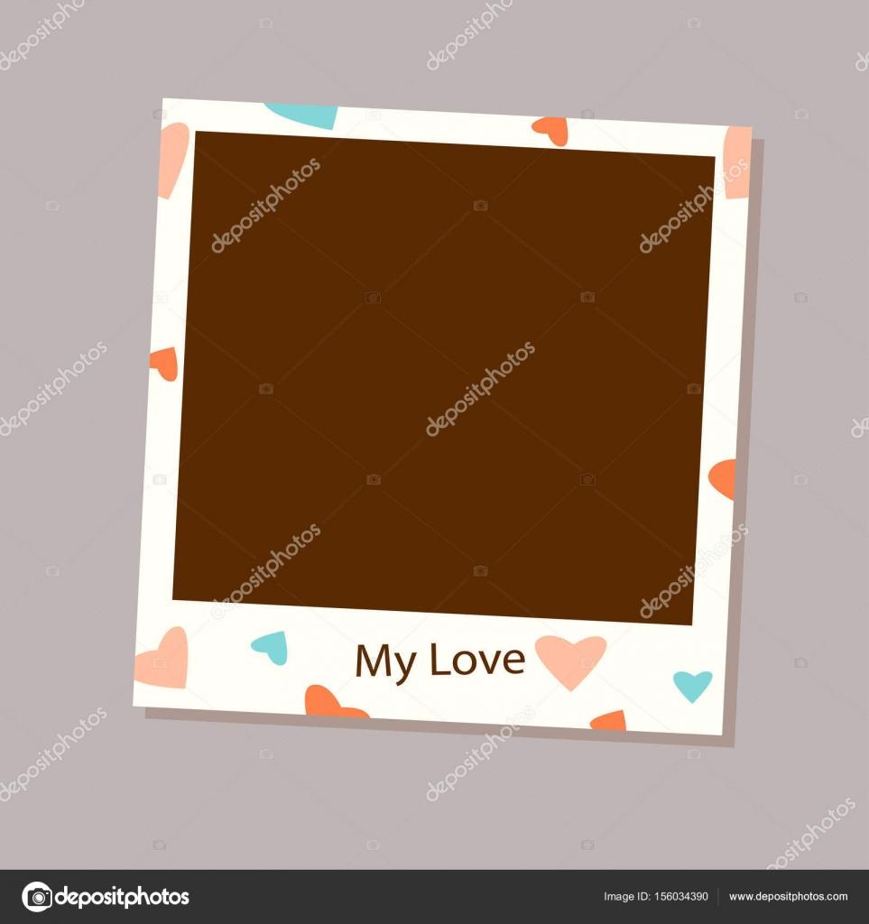 Foto Rahmen Vektor für die Liebe — Stockvektor © icandoitwinwin ...