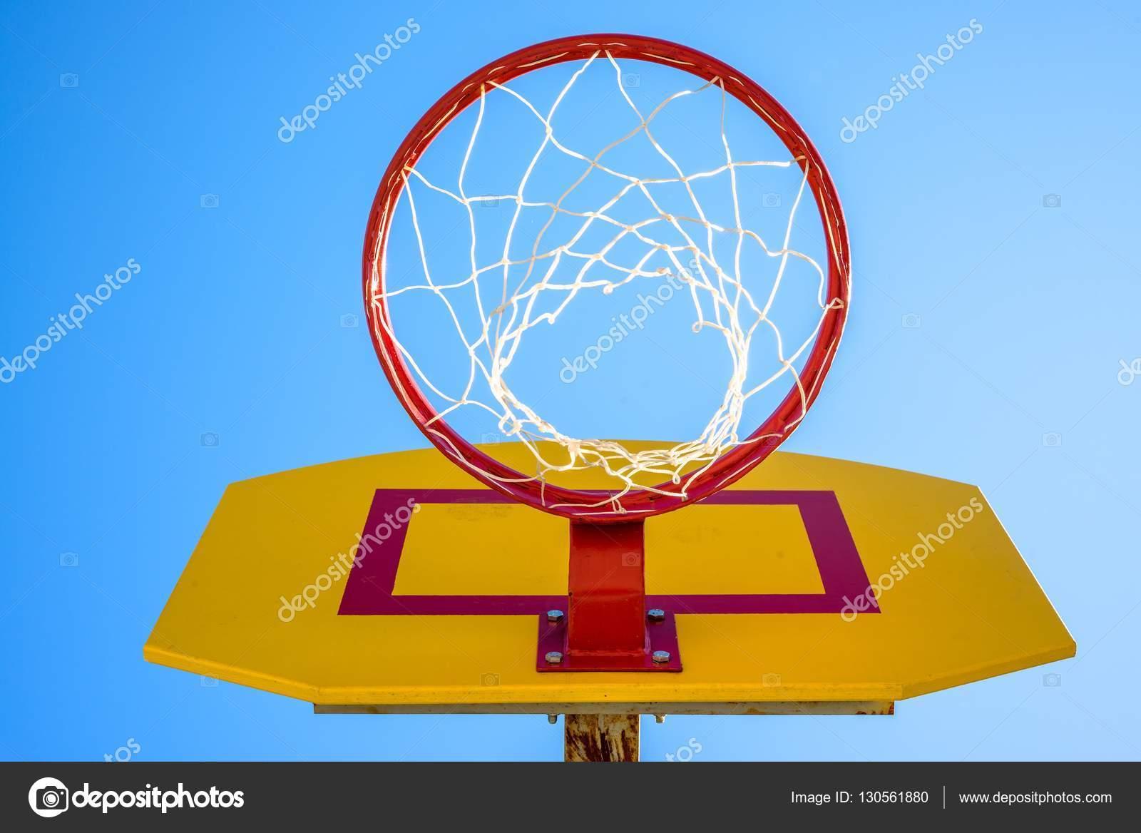 Basketball Hoop Net Rim Stock Photo Phototravelua 130561880 Diagram