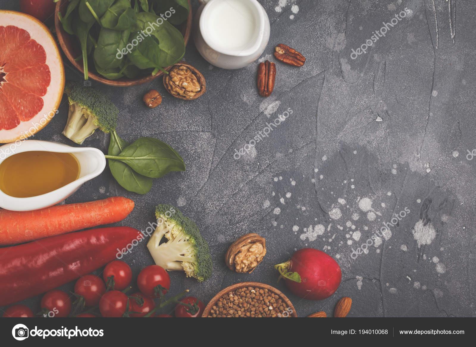 dieta a base di frutta, verdura e noci