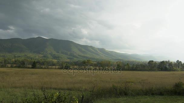 smoky mountains, autumn mountains, nice panoramic view on mountains