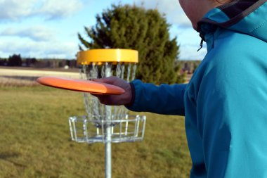 Frisbee golf course