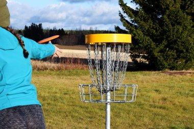 Disc golf course