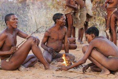 Ju/'Hoansi-San  bushman at Grashoek, Namibia