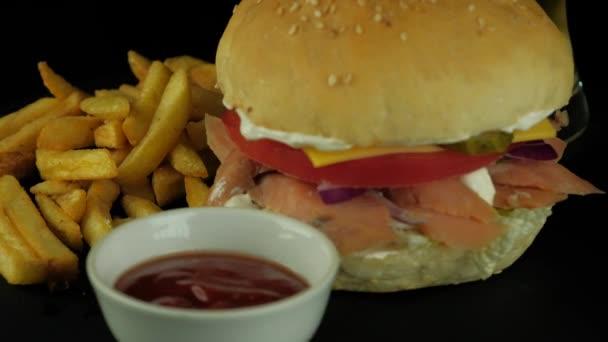 Detail chutné Burger