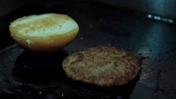 vaření Burger timelapse