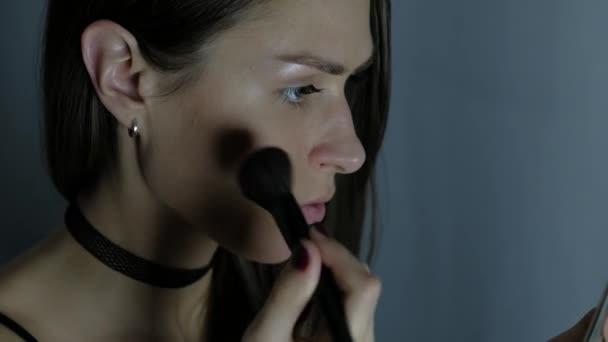 Dívka Make-up