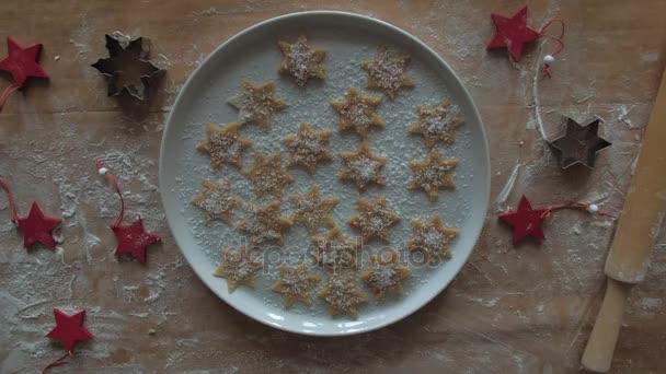 Hagyományos házi készítésű karácsonyi desszert